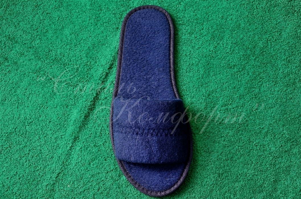 Тапочки одноразовые, ТО-19 (Синие)